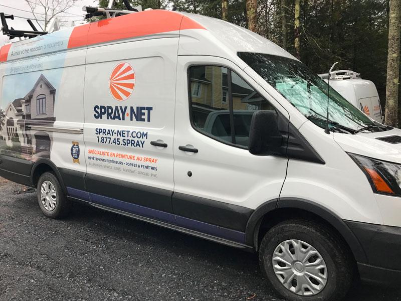 Spray-Net Sherbrooke